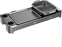 ZHEYANG Indoor Barbecue Portable Grill for 2-12