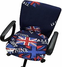 ZHHk Computer Office Chair Cover Split Protective