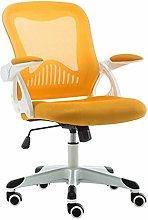 ZHHk Mesh Office Desk Chair Mid Back Rotating