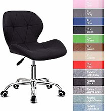 ZHHk Office Chair,Leather Desk Chair for Home