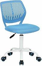 ZHHk Swivel Office Chair Adjustable Armless Kids