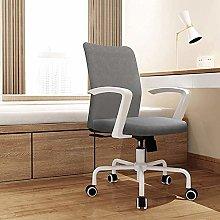 ZHHk Wee Desk Chairs, Modern Swivel Chair Easy To