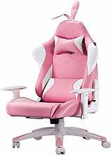 Zhicaikeji Gaming Chair Gaming Chair Pink Snow