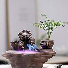 Zhicaikeji Indoor Fountains Ceramic Running Water