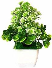 ZHICHUAN Artificial Potted Plant 1Pc Artificial