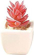 ZHICHUAN Artificial Potted Plant Artificial Flower
