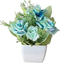 ZHICHUAN Artificial Potted Plant Beautiful