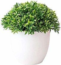 ZHICHUAN Artificial Potted Plant Bonsai Plastic