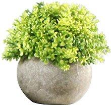 ZHICHUAN Artificial Potted Plant Vivid Realistic