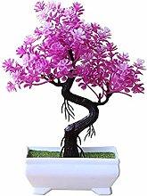 ZHICHUAN Artificial Potted Tree Bonsai Simulation