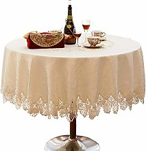 ZHICHUAN Cloth Round Tablecloths Tablecloth Chair