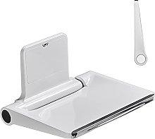 ZHICHUAN Folding Shower Seat, Wall Mounted Shower