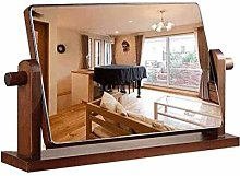 ZHICHUAN Makeup Mirror Mirror with Stand Portable