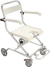 ZHICHUAN Padded Seat Transfer Bench, Shower Stool