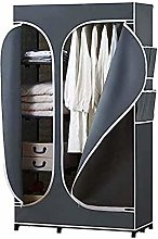 ZHICHUAN Portable Fabric Wardrobe Folding Wardrobe