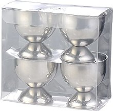 ZHIGANG 【4pcs】 Egg Cup, Stainless Steel Egg
