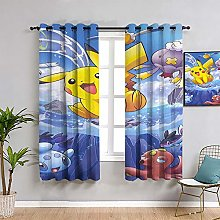 ZhiHdecor Pokemon anime Blackout Lined