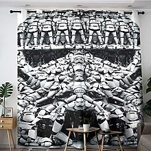 ZhiHdecor Star-Wars Kids curtain