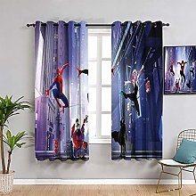 ZhiHdecor Superhero Blackout curtains 2 panels