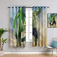 ZhiHdecor The Avengers animal shower curtain Hulk