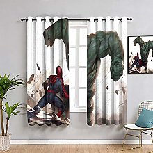 ZhiHdecor The Avengers Kids curtain hulk vs