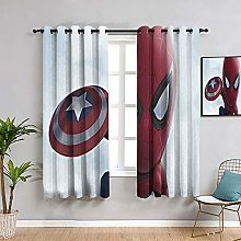 ZhiHdecor The Avengers window curtains little
