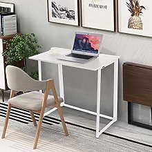 ZHIJIE Folding Corner Computer Table,Work Station