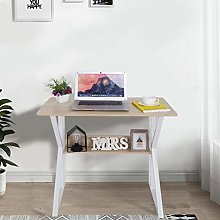 ZHIJIE Simple Student Writing Desktop Desk, Work