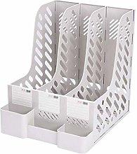 ZHITENG Desk Storage Organizer Shelf Thick Plastic