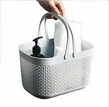 ZhiWei Plastic Storage Organizer Basket Bin with