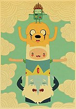 zhizunbao Cartoon posters and print art cute wall