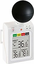 ZHLZH WBGT Heat Index Monitor, (Wet Bulb, Dew