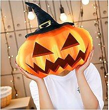 ZHMEHE Plush Pumpkin Toy Fluffy Stuffed Pumpkin