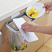 ZHNA-Trash can Wall-mounted Trash Bag Holder With
