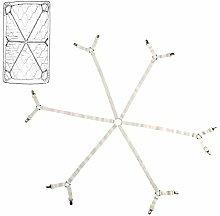 ZhongYe Adjustable Bed Sheet Fasteners Suspenders