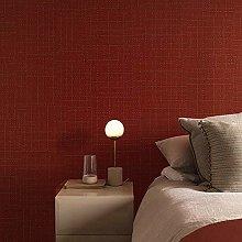 ZHOUKEYU Linen Wallpaper Luxury Dark Green Paper