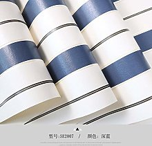 ZHOUKEYU Simple Pure Pigment Color Striped