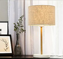 ZHPBHD TABLE LAMP Hessian Table Lamp Bedside
