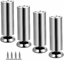 ZHPBHD X4 Furniture Legs Stainless Steel Coffee