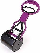 ZHS Pet Poop Scoop Handle Shovel Cleaning Animal