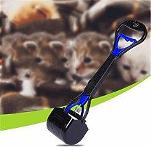 ZHS Pet Pooper Long Handle Dog Poop Scoop Shovel