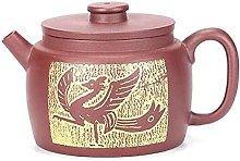 ZHSDTHJY Tea Potsyixing Enamel Colored Pottery