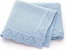 ZHSGV Baby Blankets Knitted Newborn Swaddle Wrap