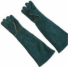 ZHU Animal Handling Gloves Bite Proof Reinforced