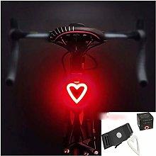 ZHUANQIAN Bicycle Tail Light Multi Lighting Modes