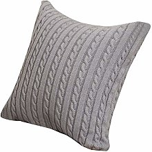 ZHUCEHAONAN Pillow Cases Knitting Fashion Acrylic