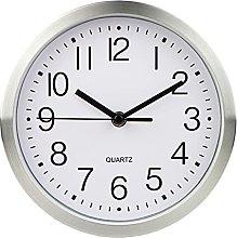 ZhuFengshop Retro Wall Clock Silent Non-ticking