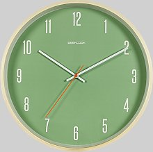 ZhuFengshop Wall Clock Black Silent Clock -
