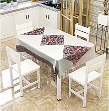 zhuobu 3D Printing Tablecloth Rectangle,Classical