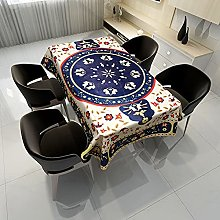 zhuobu 3D Printing Tablecloth Rectangle,Fabric